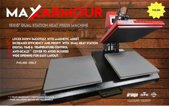 Heat Press - Dual Station