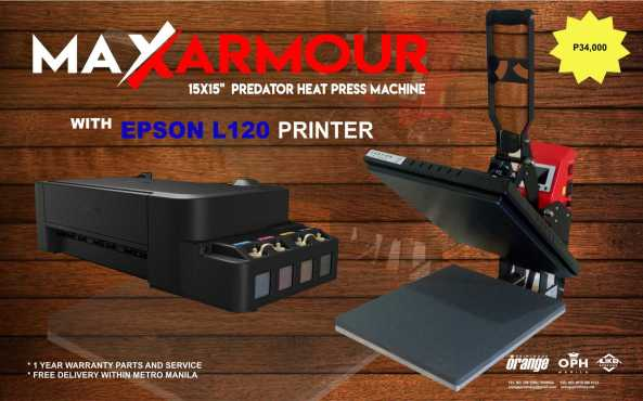 Heat Press - Max Clam 34K Package