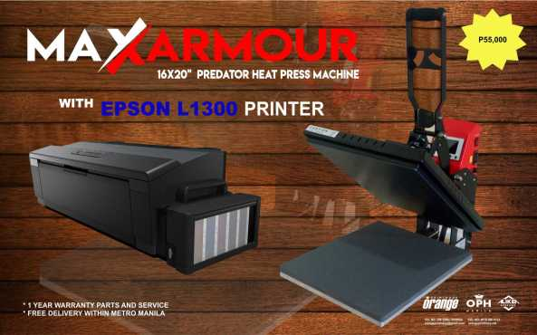 Heat Press - Max Clam 55K Package