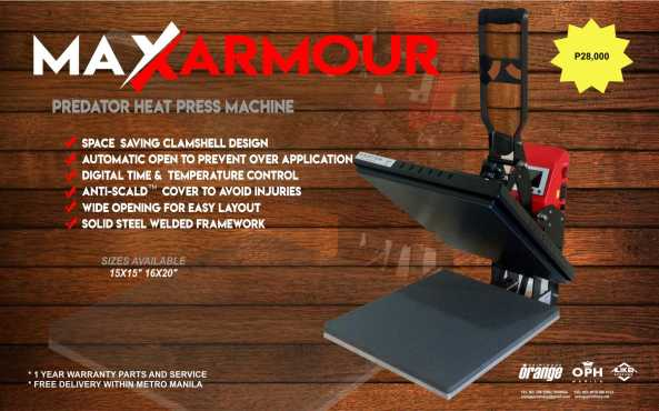 Heat Press - Predator 28K