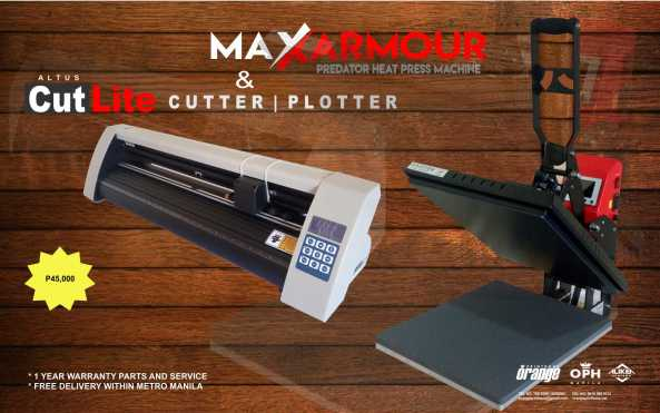 MaxClam Cutlite 45k package